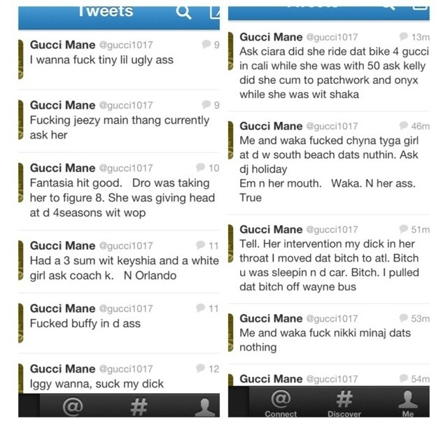 Gucci mane goes on twitter rant | antionettesanaa's Blog